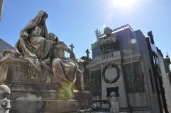 Cmentarniany Recoleta. Buenos Aires Fotografia Stock