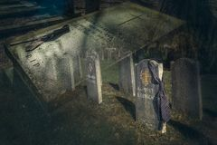Cmentarniany Voorburg, Vught obraz royalty free