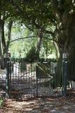 Cmentarniany wejście zdjęcie royalty free
