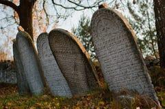 cmentarniany żydowski stary Prague zdjęcie royalty free