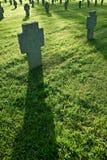 cmentarniany zmierzch Zdjęcia Stock