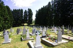Cmentarz Fotografia Stock