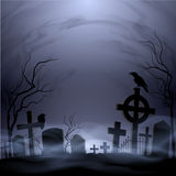 cmentarz ilustracji