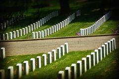 cmentarz Zdjęcia Royalty Free