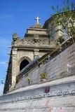 Cmentarz i katedra Zdjęcia Royalty Free