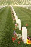 cmentarz krajowe Zdjęcie Royalty Free