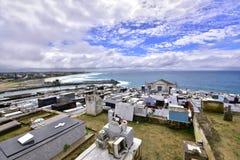 Cmentarz, miasto Saquarema, Rio De Janeiro, Brazylia zdjęcia stock