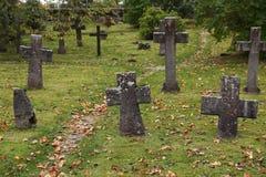 Cmentarz monaster Obrazy Royalty Free