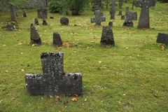 Cmentarz monaster Fotografia Royalty Free