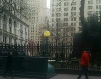 Cmentarz na Wall Street Fotografia Royalty Free