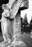 Cmentarz rzeźba Obrazy Stock