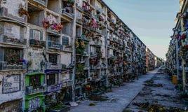 Cmentarz w Antigua Gwatemala zdjęcia stock