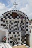 Cmentarz w grodzkim Morne-A-l ` Eau, Guadeloupe zdjęcia stock