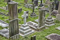 Cmentarz w Hong Kong, Chiny Obrazy Stock
