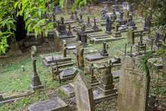 Cmentarz w Hong Kong, Chiny Zdjęcie Royalty Free