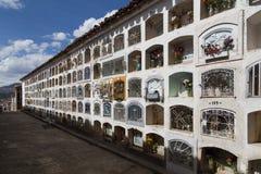 Cmentarz w Huaraz, Peru Obraz Royalty Free