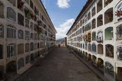 Cmentarz w Huaraz, Peru Obrazy Royalty Free