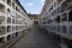 Cmentarz w Huaraz, Peru Obrazy Stock