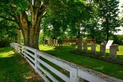 cmentarz wiejski Zdjęcia Stock