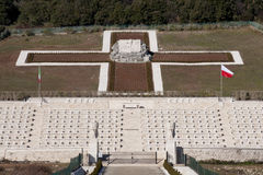 cmentarza połysku wojna Fotografia Stock