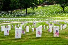 cmentarza s u weteranów wojna Fotografia Royalty Free