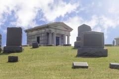 Cmentarzy grobowów Gravestones Zdjęcie Stock
