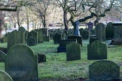 Cmentarzy kamienie Obrazy Stock