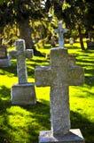 cmentarzy nagrobki Obraz Stock