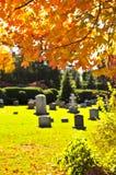 cmentarzy nagrobki Obrazy Stock