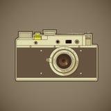 Câmera da foto do vintage Imagens de Stock