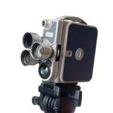 Câmera de filme do vintage 8mm Fotos de Stock