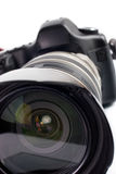 Câmera digital profissional da foto Fotos de Stock Royalty Free