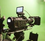 Câmera do cinema de Digitas Fotografia de Stock