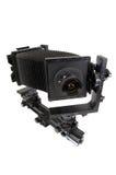 A câmera do estúdio para uma película de folha Foto de Stock