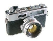 Câmera do rangefinder da película do vintage Imagens de Stock