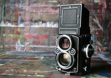 Câmera do vintage Imagem de Stock Royalty Free