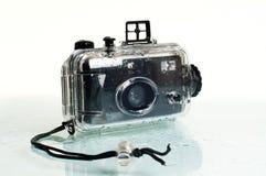 Câmera subaquática da fotografia Fotos de Stock Royalty Free
