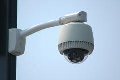 Câmera video ao ar livre do cctv da fiscalização da segurança Foto de Stock Royalty Free
