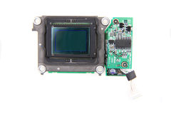 Cmos chip from camera Royalty Free Stock Photo