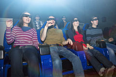 Cmovie de observación 5D Imagen de archivo libre de regalías