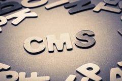 CMS photographie stock