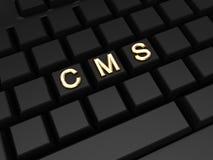 CMS concept. Stock Photo
