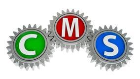 CMS gears Stock Photos