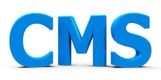 CMS icon Royalty Free Stock Photo