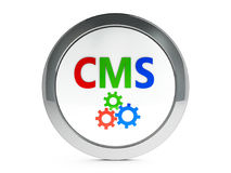 CMS icon with highlight Stock Image