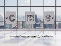 Cms-Symbol Lizenzfreie Stockfotos