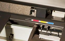 cmyk打印机 库存照片