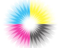 cmyk vector illustratie