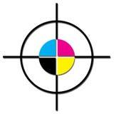 Cmyk. Illustration of cmyk palette symbol on white background Stock Photos