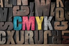 CMYK royalty free stock photos